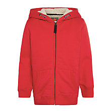 Buy John Lewis Boy Teddy Zip Hoodie Online at johnlewis.com