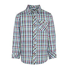 Buy John Lewis Boys' Large Check Long Sleeve Shirt Online at johnlewis.com