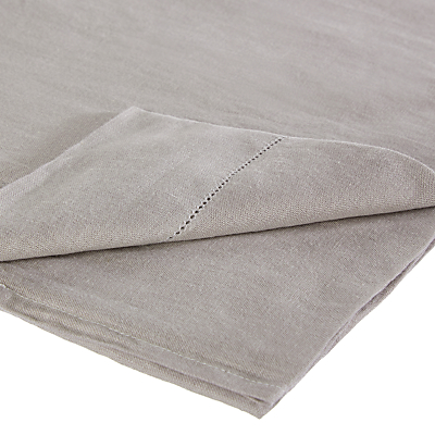 John Lewis Croft Collection 100% Linen Flat Sheet