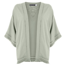 Buy Mint Velvet Fringe Kimono, Lichen Online at johnlewis.com