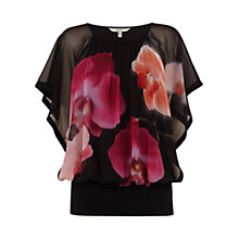 Buy Coast Aruba Printed Calla Top, Multi Online at johnlewis.com