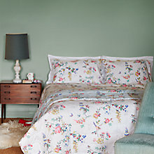 Buy Cath Kidston Birds & Roses Bedding, Chalk Online at johnlewis.com