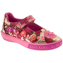 Buy Lelli Kelly Estelle MJ Shoes, Pink/Multi Online at johnlewis.com