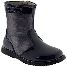 Buy Lelli Kelly Cammie Leather Boots, Black Online at johnlewis.com