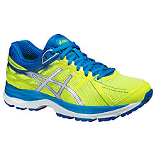 Buy Asics GEL-Cumulus Running Trainers, Yellow/Blue Online at johnlewis.com