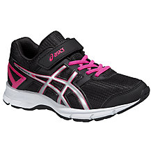 Buy Asics GEL-Galaxy Running Trainers, Black/Pink Online at johnlewis.com
