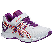 Buy Asics Gel Galaxy 8 PS Sports Shoes, White/Multi Online at johnlewis.com