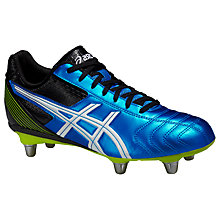 Buy Asics Lethal Tackle Rugby Boots, Blue Online at johnlewis.com