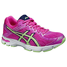 Buy Asics GEL-GT-1000 Running Trainers, Pink Online at johnlewis.com