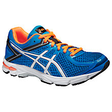 Buy Asics GEL-GT-1000 Running Trainers, Blue/Orange Online at johnlewis.com