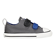 Buy Converse CTAS 2V Low Trainers, Grey/Multi Online at johnlewis.com