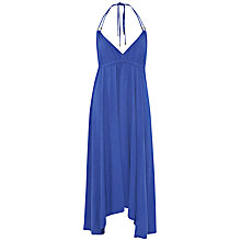 Buy French Connection Jersey Beach Maxi Dress, Electric Blue Online at johnlewis.com