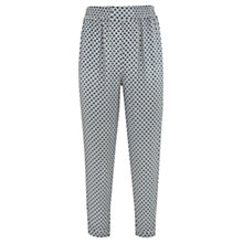 Buy Mint Velvet Carrie Print Soft Trousers, Multi Online at johnlewis.com