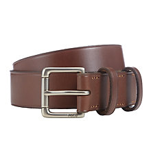 Buy Polo Ralph Lauren David Leather Belt, Tan Online at johnlewis.com