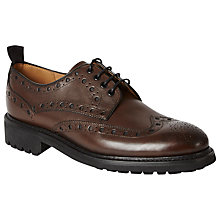 Buy Oliver Sweeney Boxall Leather Shoes, Brown Online at johnlewis.com