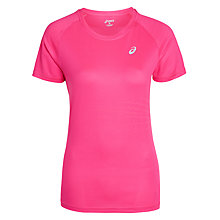 Buy Asics LiteShow Running Top, Pink Online at johnlewis.com