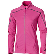 Buy Asics LiteShow Full Zip Running Jacket, Pink Online at johnlewis.com