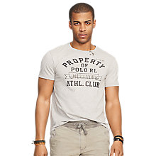 Buy Polo Ralph Lauren Print Short Sleeve T-Shirt Online at johnlewis.com