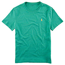 Buy Polo Ralph Lauren Basic Custom Fit T-Shirt Online at johnlewis.com