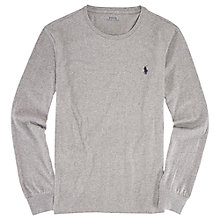Buy Polo Ralph Lauren Custom Fit Long Sleeve T-Shirt Online at johnlewis.com