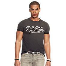 Buy Polo Ralph Lauren Brand Print T-Shirt Online at johnlewis.com