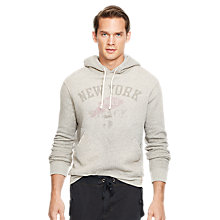 Buy Polo Ralph Lauren Branded Print Hoody, Battalion Heath Online at johnlewis.com