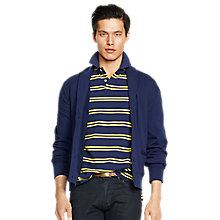 Buy Polo Ralph Lauren Shawl Cardigan, French Navy Online at johnlewis.com