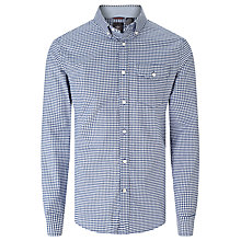 Buy Dockers Stretch Oxford Shirt, Estate Blue Online at johnlewis.com