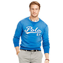 Buy Polo Ralph Lauren Polo 67 Sweater, Cruise Royal Online at johnlewis.com