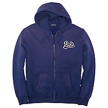 Buy Polo Ralph Lauren Football Full Zip Hoodie Online at johnlewis.com