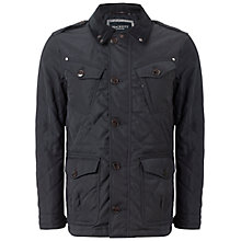 Buy Hackett London Fenton Jacket, Navy Online at johnlewis.com