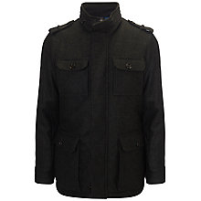 Buy Hackett London Aborfield Jacket, Olive Online at johnlewis.com