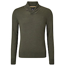 Buy Dockers Merino Shawl Collar Jumper, Evergreen Online at johnlewis.com