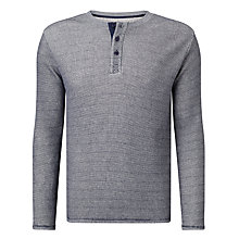 Buy Dockers Waffle Henley Top Online at johnlewis.com