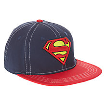 Buy John Lewis Superman Cap, Blue Online at johnlewis.com
