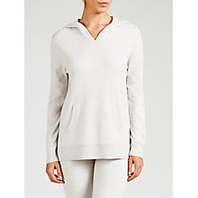 Buy John Lewis Knitted Loungewear Top, Silver Grey Online at johnlewis.com