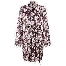 Buy Somerset by Alice Temperley Orchid Bloom Silk Robe, Multi Online at johnlewis.com