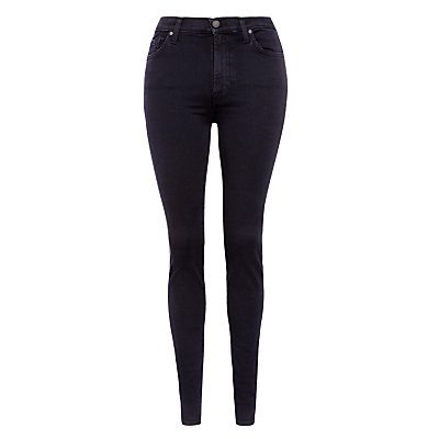 7 For All Mankind Skinny Slim High Waist Illusion Jeans