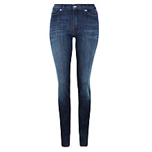 Buy 7 For All Mankind Rozie High Waist Super Skinny Jeans, Coronado Dark Online at johnlewis.com