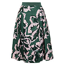 Buy Marella Clava Print Skirt, Iron Online at johnlewis.com