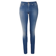 Buy 7 For All Mankind Cristen Straight Leg Jeans, Blue Online at johnlewis.com