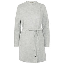 Buy Marella Sosta Belted Wool Coat, Melange Grey Online at johnlewis.com