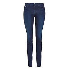 Buy Armani Jeans Skinny Jeans, Mid Blue Online at johnlewis.com