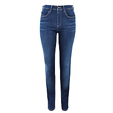 Buy Armani Jeans Clean Wash Slim Jeans, Mid-Blue Online at johnlewis.com