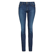 Buy Armani Jeans J28 Skinny Jeans, Mid Blue Online at johnlewis.com