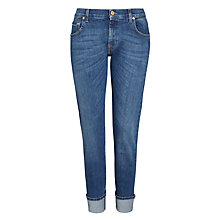 Buy 7 For All Mankind Relaxed Skinny Boyfriend Jeans, Selvedge Mid Online at johnlewis.com