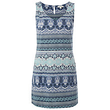 Buy White Stuff Cloud Tunic Vest, Teal/Multi Online at johnlewis.com