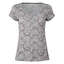 Buy White Stuff Fillie T-Shirt. Muted Cranberry Online at johnlewis.com