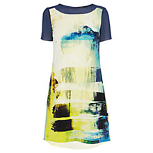 Buy Karen Millen Art Print Silk Dress, Multi Online at johnlewis.com