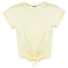 Buy Miss Selfridge Tie Front T-Shirt Online at johnlewis.com